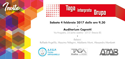 "Tour ""TAGA interpreta drupa"" - BRESCIA"