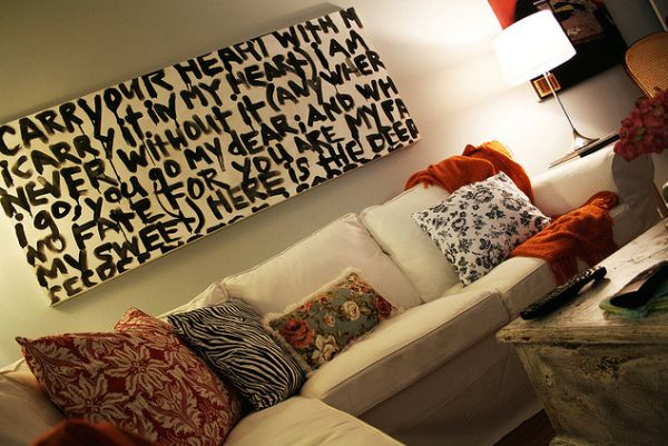 Message Wall Art: Home Decor