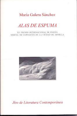 Al agua, de María Galera Sánchez, Ancile