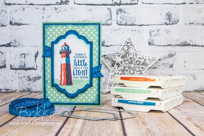 High Tide Lighthouse Card made using Stampin' Up! UK Supplies - you can join Stampin' Up! UK here