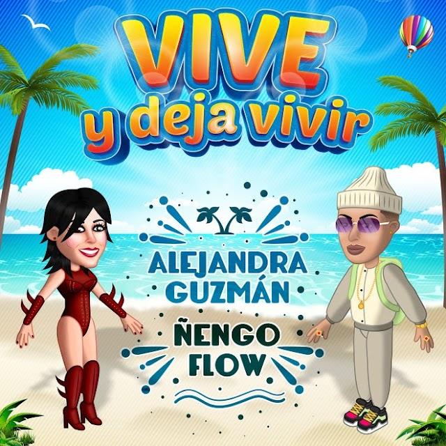 """ALEJANDRA GUZMÁN Y ÑENGO FLOW PRESENTAN """"VIVE Y DEJA VIVIR"""""""