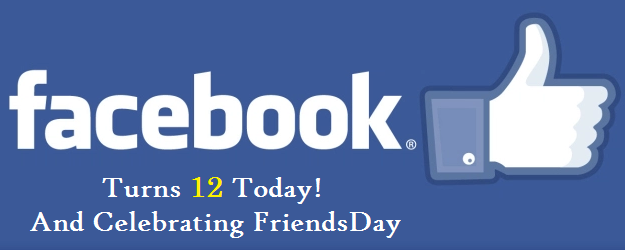 Facebook Celebrating FriendsDay