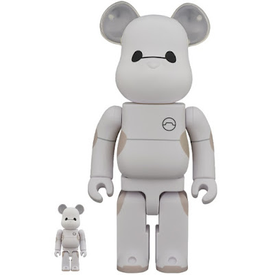 Big Hero 6 Baymax Be@rbrick Vinyl Figures by Medicom Toy x Disney