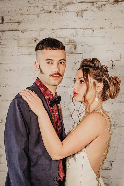 peinados novias con torzadas 2020