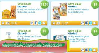Free Printable Glade Coupons
