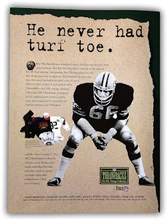 NFL Throwbacks Collection Ad #3