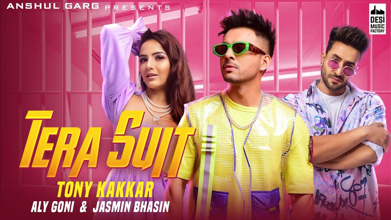 Tera Suit Lyrics in Hindi Tony Kakkar Aly Goni X Jasmin