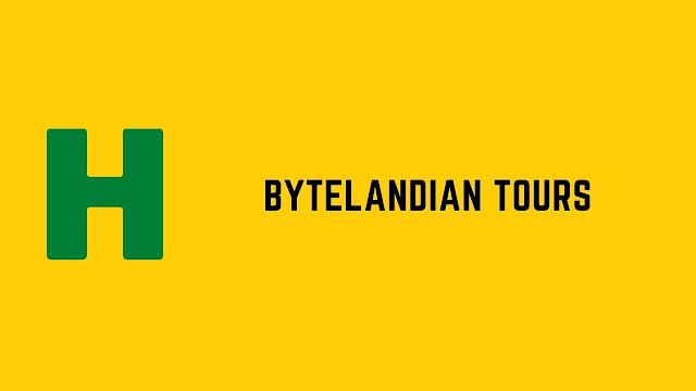 HackerRank ByteLandian Tours problem solution