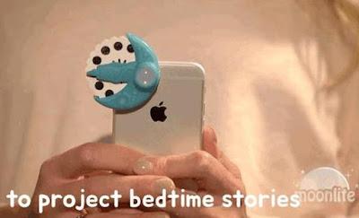 Moonlite bedtime story projector