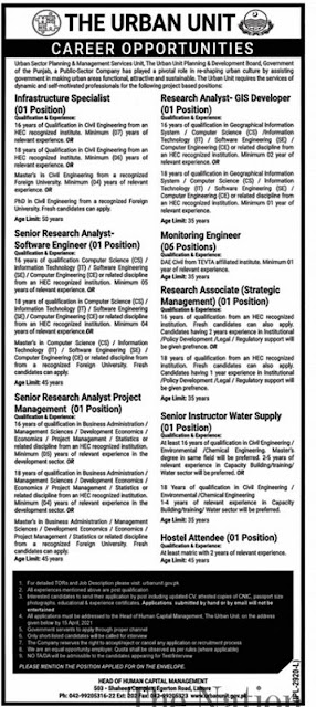 the-urban-unit-lahore-jobs-2021-application-form