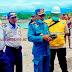 Cegah Penyebaran Covid-19, Kepala Pelabuhan Laut Nabire Pimpin Sidak di KMP Masirei