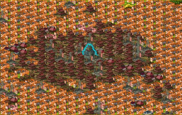 オレンジ陣で大殿防衛