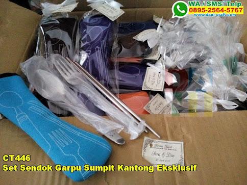 Harga Set Sendok Garpu Sumpit Kantong Eksklusif