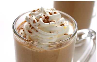 PUMPKIN WHITE HOT CHOCOLATE #drink #chocolate