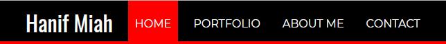 create portfolio using html & css
