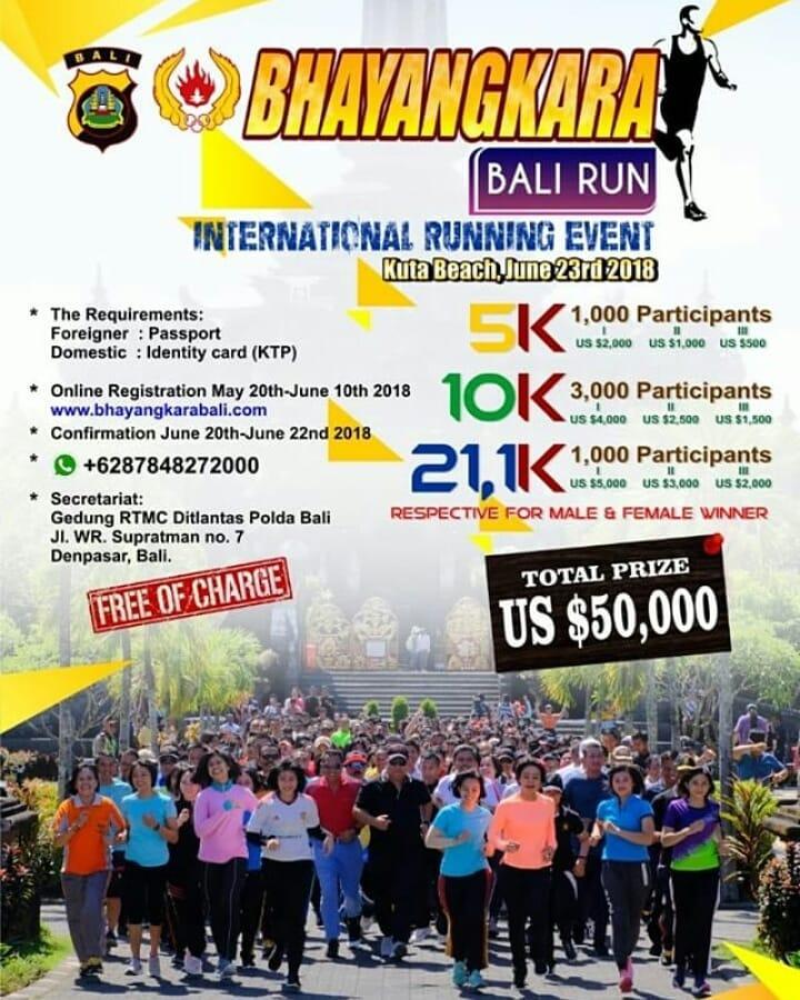 Bhayangkara Bali Run • 2018