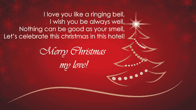Merry christmas with love images