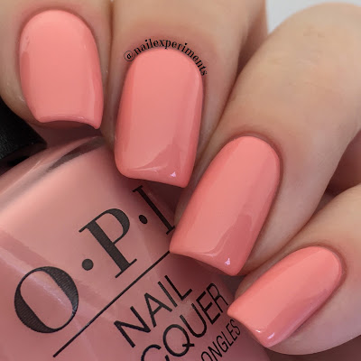 OPI Lisbon You've Got Nata On Me swatch