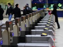 Barreras del metro de Londres.