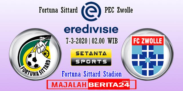 Prediksi Fortuna Sittard vs PEC Zwolle