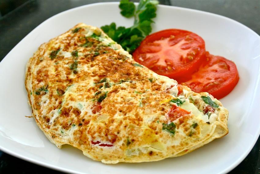 veggie omelette main