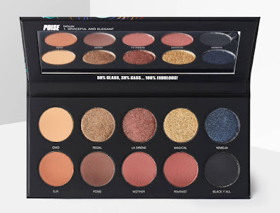 Uoma Beauty nude palette