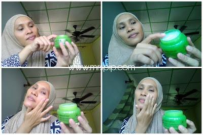 review innisfree green tea sleeping mask
