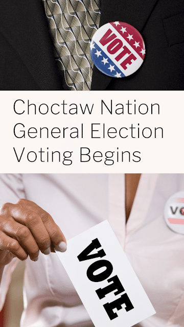 Voting in the Choctaw Nation General Election begins soon; Find your polling place