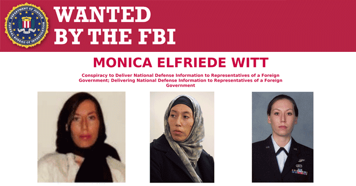 agent wanted by fbi poster