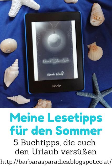 Meine Lesetipps für den Sommer: 5 Buchtipps, die euch den Urlaub versüßen - MondLichtSaga von Marah Woolf