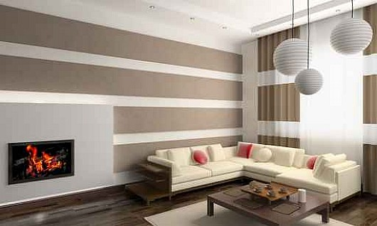 Interior Design Wall Painting: Braxton And Yancey: HORIZONTAL STRIPES
