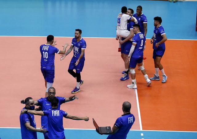 Itambé/Minas comemora vitória na primeira partida das quartas
