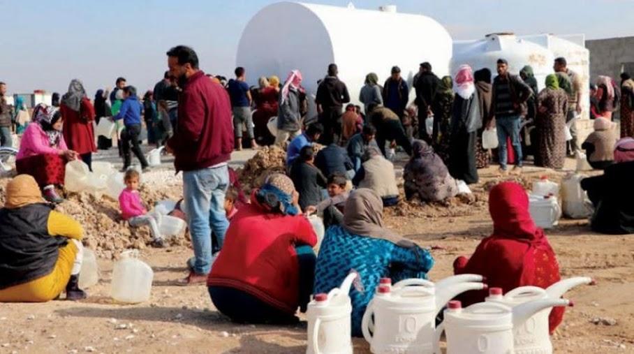 Η Τουρκία «οπλοποιεί» το νερό στη βόρεια Συρία!