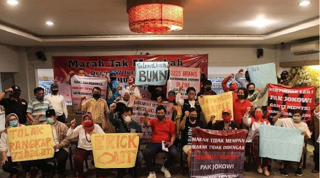 42 Orang Dipecat dari Posisi Komisaris BUMN, Relawan Jokowi Merasa Terbuang