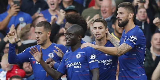 Chelsea Belum Terkalahkan, David Luiz Ogah Bicara Peluang Juara