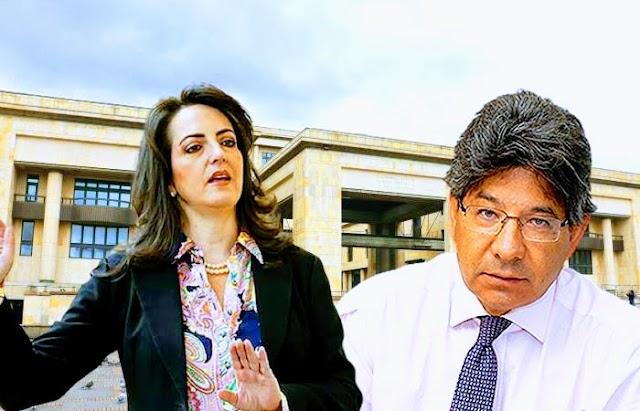 Senadora María Fernanda Cabal exigió que el magistrado Alejandro Linares se aparte de discusiones sobre curules de paz en Colombia
