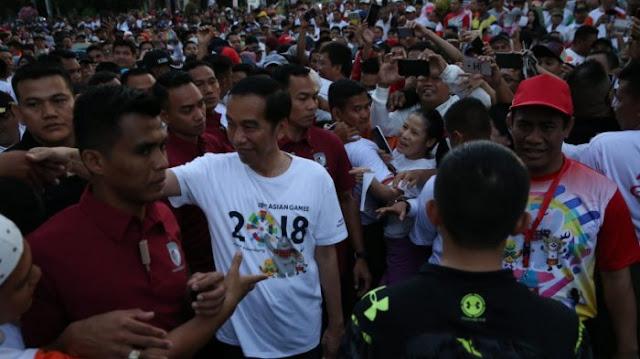 Jokowi Berpesan pada Masyarakat agar Tetap Jaga Persatuan