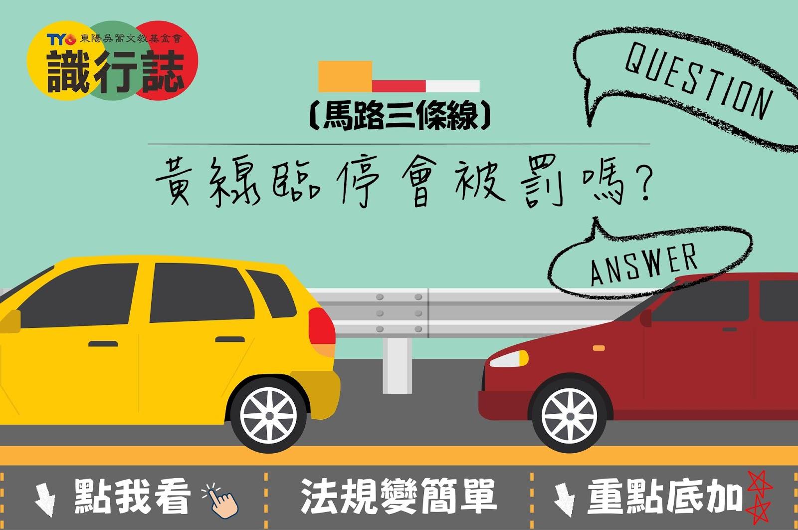 馬路三條線,黃線臨停會被罰嗎,罰多少