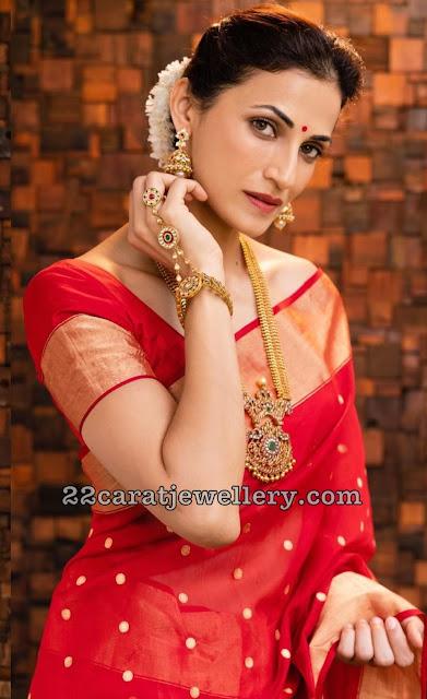 Shilpa Reddy Gran Antique Haar