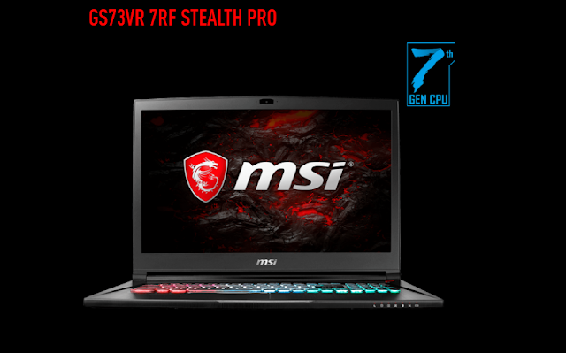 MSI GS73VR 7RF Stealth Pro Fast Gaming Laptop