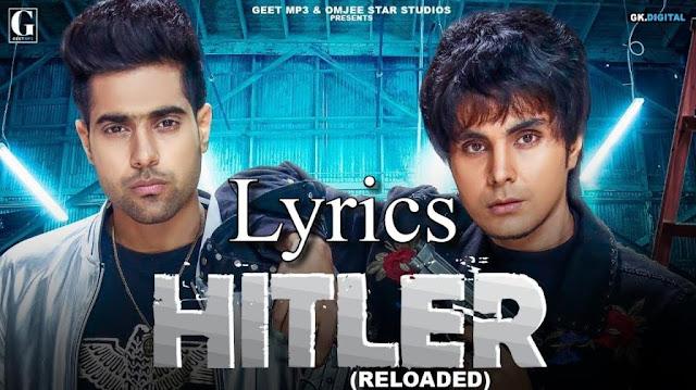 Hitler Lyrics - GURI   Deep Jandu   YoLyrics