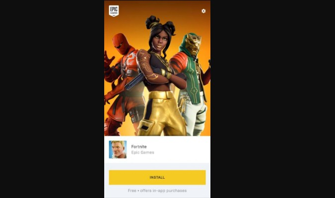 Game Fortnite Mobile untuk Smartphone Android