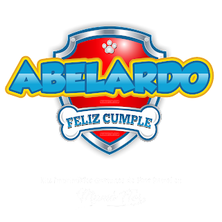 Logo de Paw Patrol: Abelardo