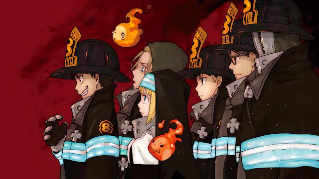 fire force wallpaper anime full hd
