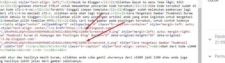 Cara Mengatasi Gambar Thumbnail Buram di Homepage dan Postingan Blog