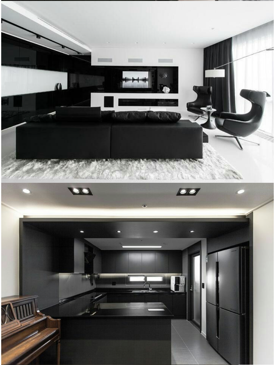 K Pop K Fans All Black Interior Designs Are Bad In Real Life