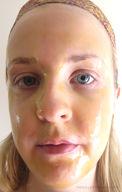 montagne jeunesse honey peel off masque
