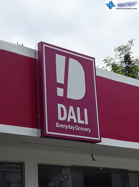 Area G Dasma Front Signage - DALI Everyday Grocery
