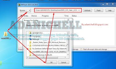 Browse dan agan arahakan pada Firmware Andromax A (A16C3H)