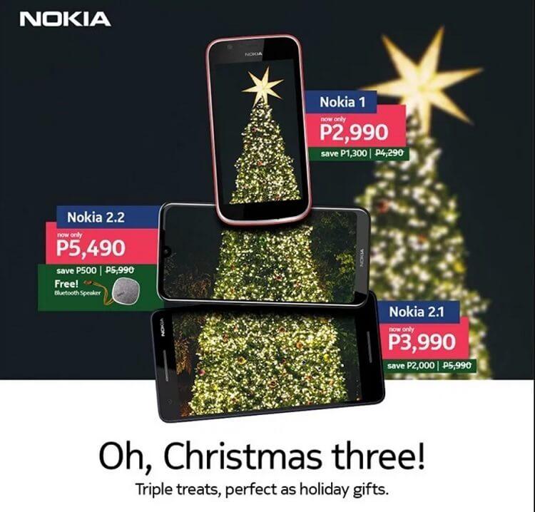 Nokia Announces Holiday Promo